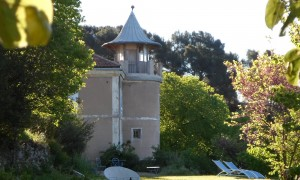 Tower of the pavillon