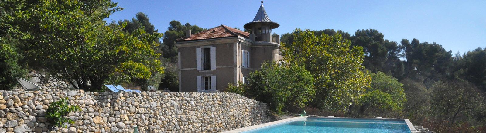 At The Swimming Pool. Bu0026B Beauregard Aix En Provence