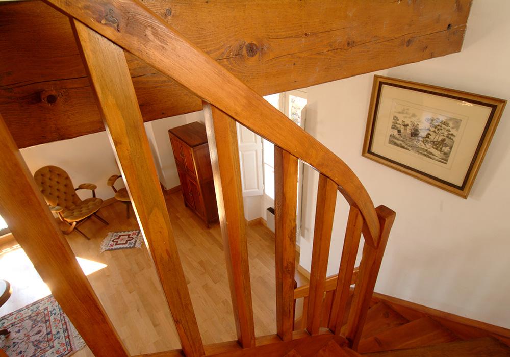 L'escalier Chambre d'hôtes La Romantique